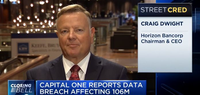 Horizon Bank CEO appears on CNBC