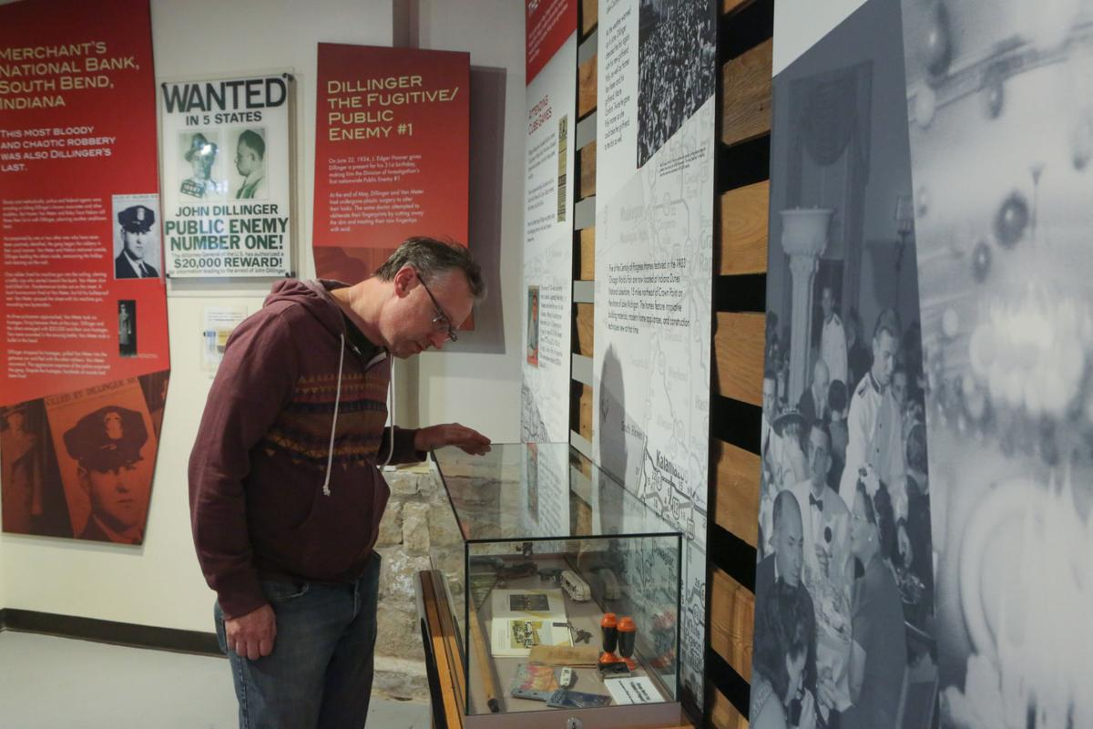 The Dillinger Museum has been open at new location in old courthouse for over a year now.