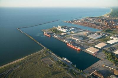 Port of Indiana-Burns Harbor saw a 52% jump in tonnage in June