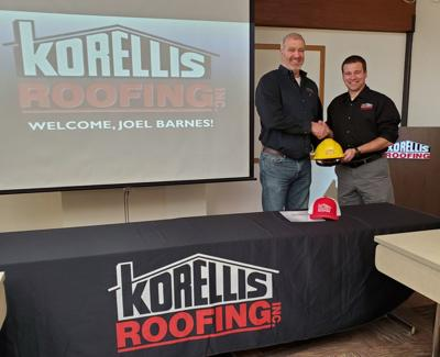 Korellis Roofing hires new safety manager