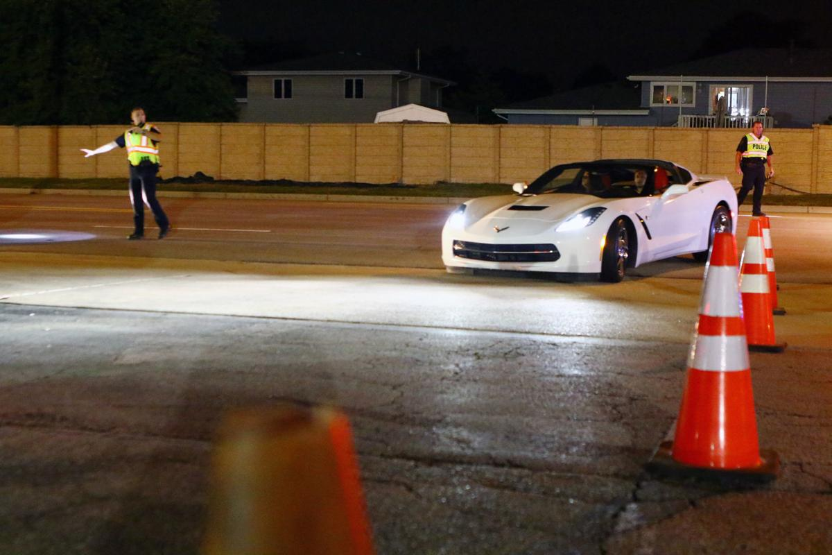 Sobriety Checkpoint in Dyer