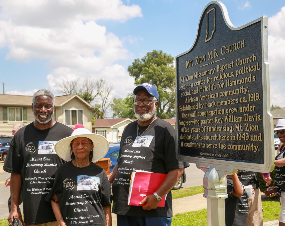 Mt. Zion Missionary Baptist Church celebrates its centennial.