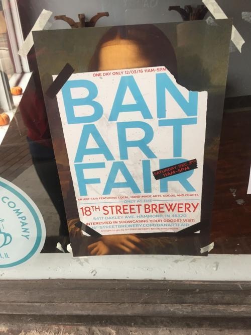 18th Street Brewery to host art fair