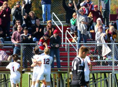 Chesterton vs. Penn in boys soccer regional