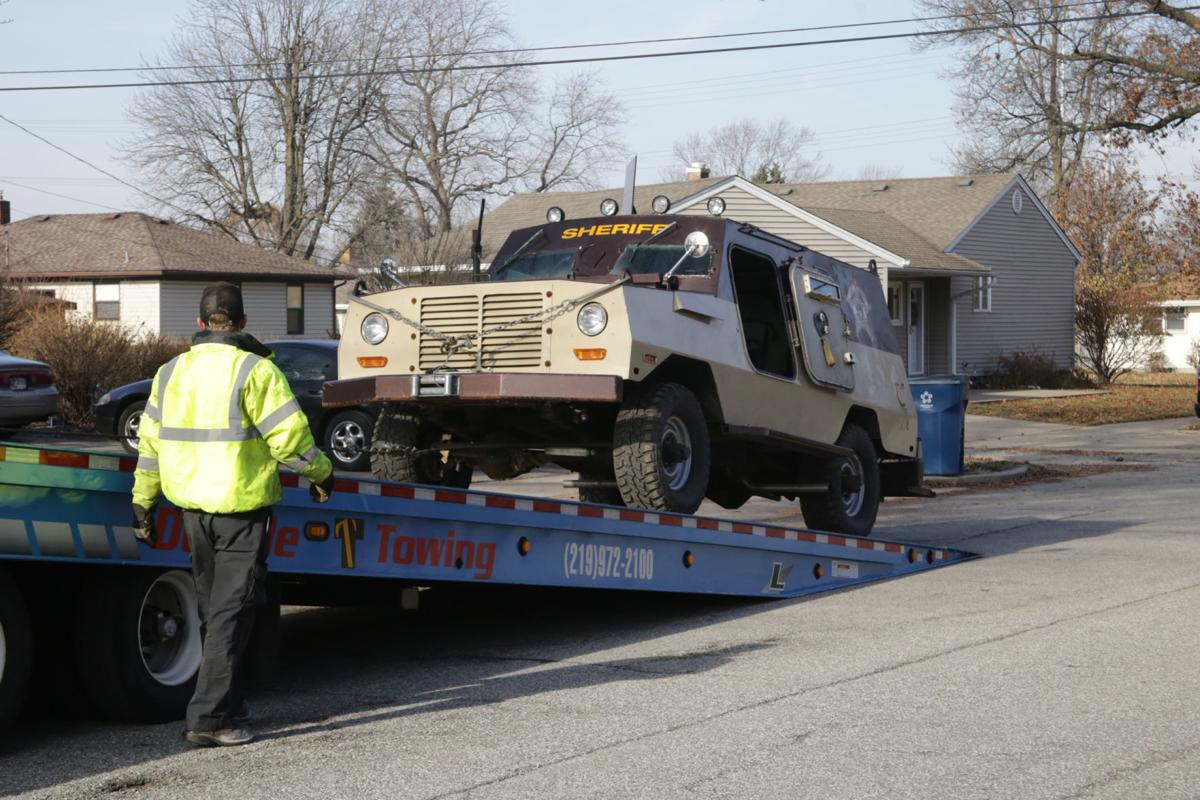 Lake County sheriff's armored rescue vehicle needs saving of
