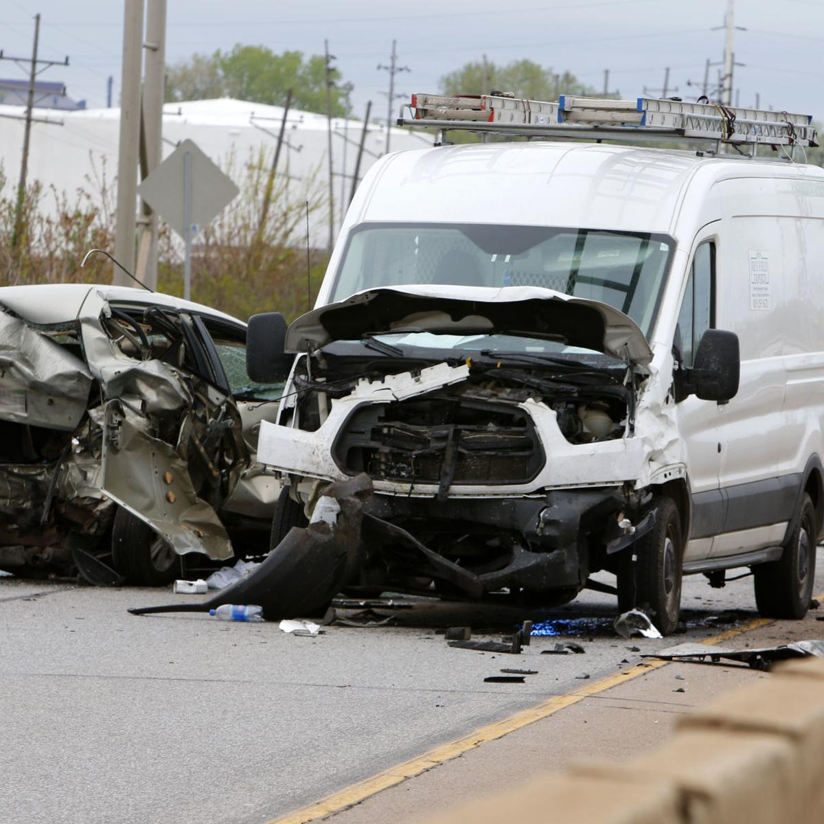 UPDATE: Man killed in 2-vehicle crash on Cline Avenue identified