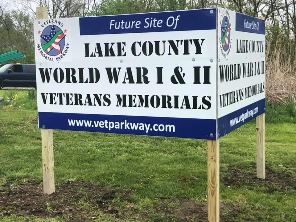 Lake County World Wars I & II Veterans Memorial