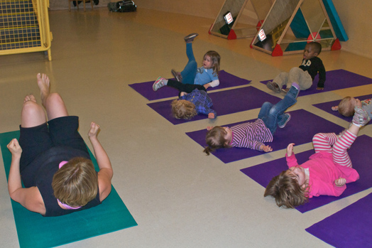 Study finds child care centers face challenges to keeping children active