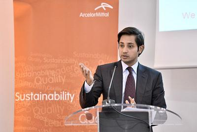 Aditya Mittal named president of ArcelorMittal