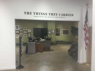 Kurt Vonngeut exhibit at National Veterans Art Museum shows author's artwork