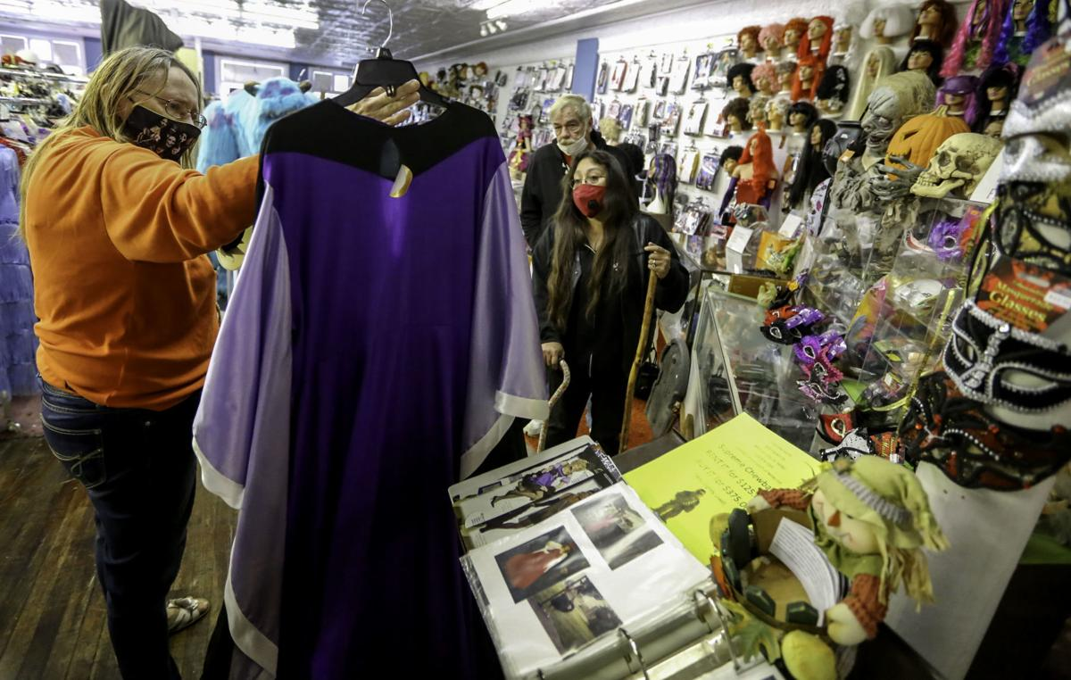 Halloween Candy sales up, costume sales and rental is down