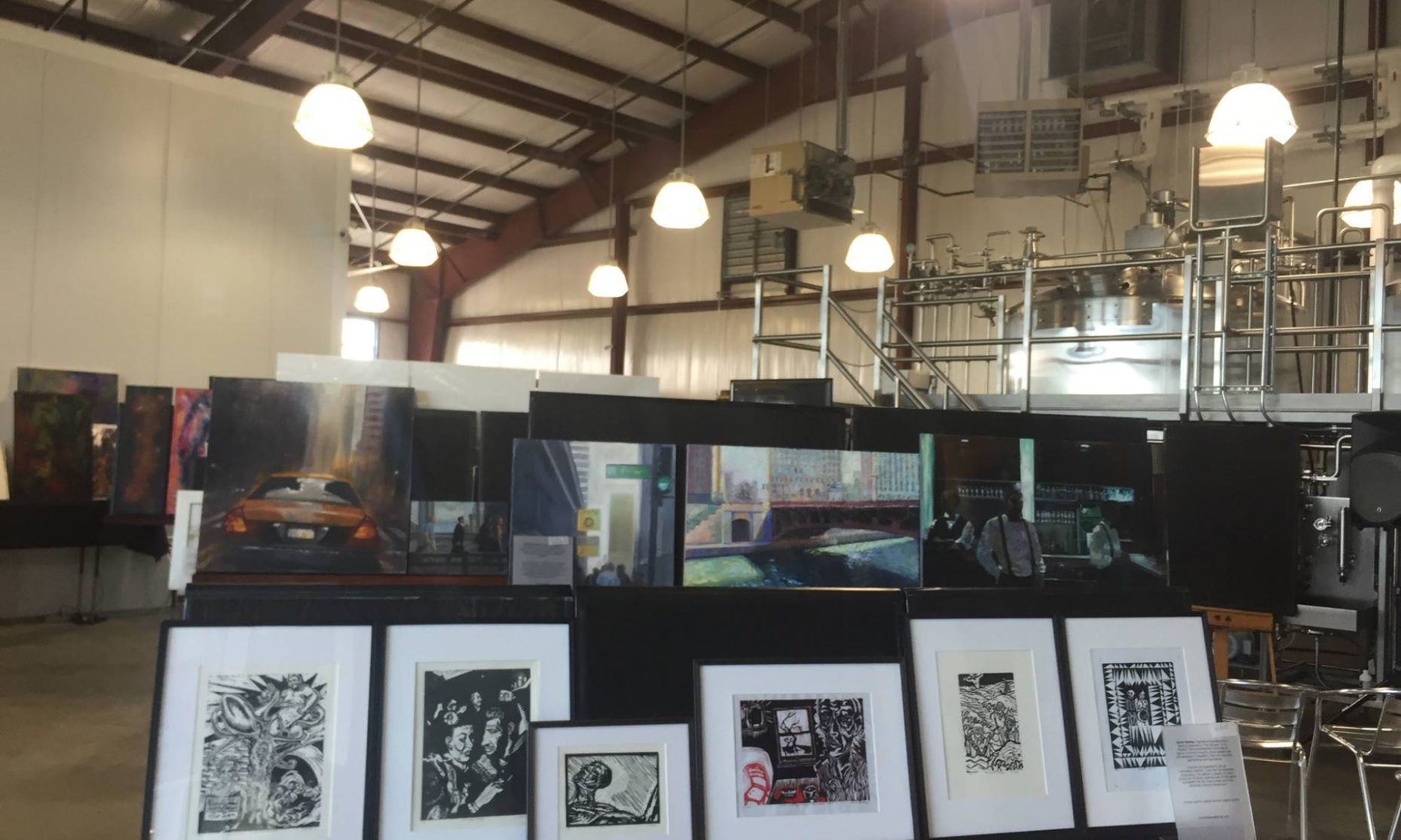nwitimes.com - Kathleen Dorsey Times correspondent - Ula Art Gallery makes itself at home at Fancy Frugal Furniture Boutique