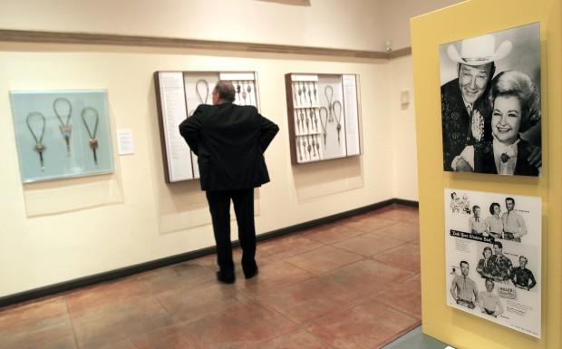 Arizona museum displays bolo ties, symbol of West
