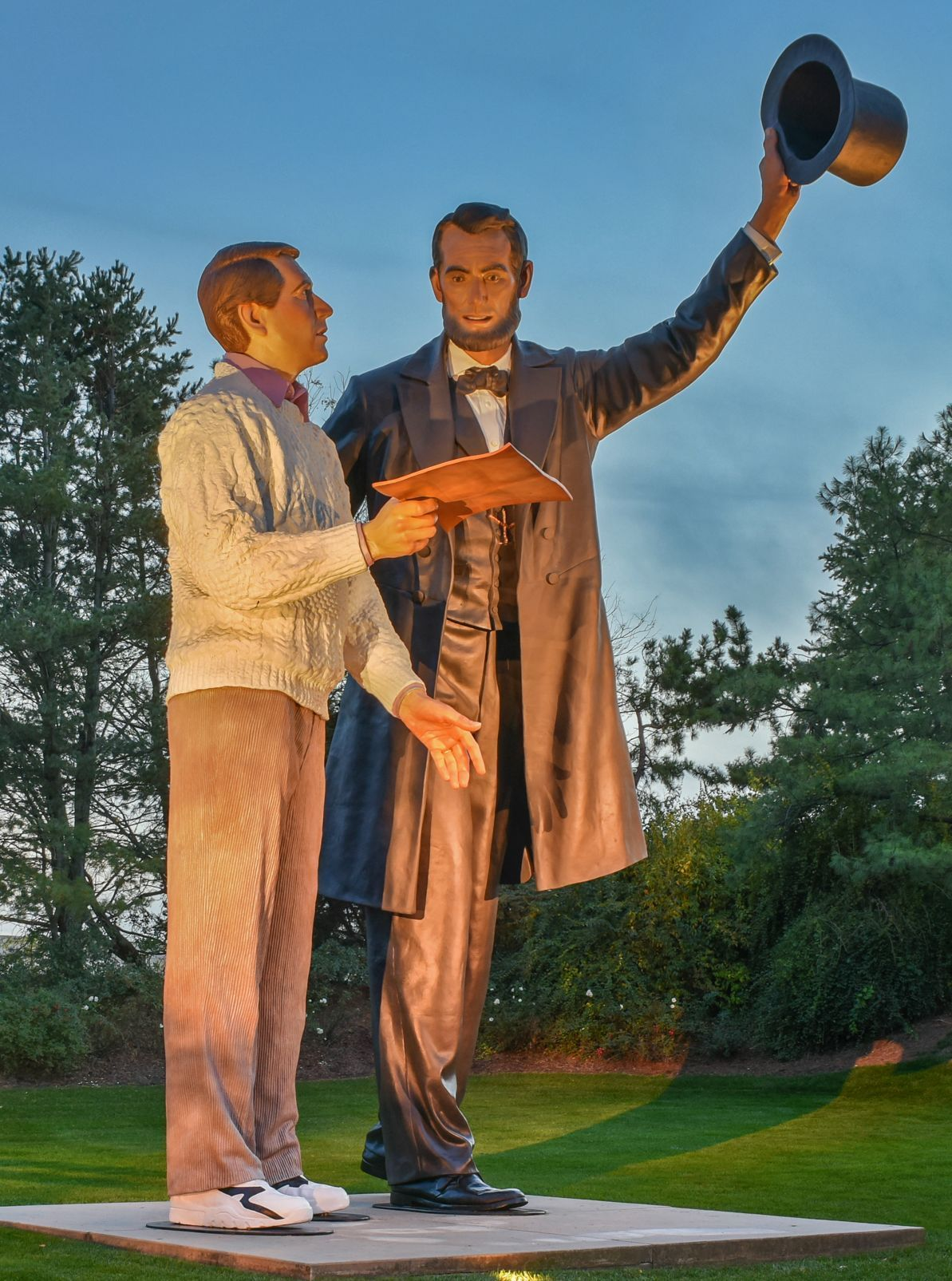 Honest Abe Is Going To Visit Crown Point News