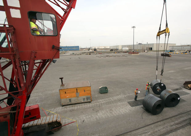 Steel imports fall