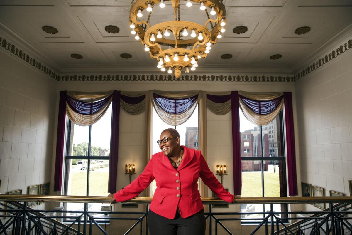 Gary Mayor Karen Freeman-Wilson