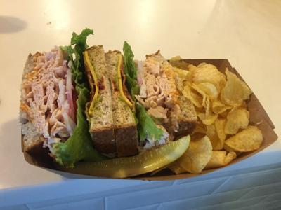 TASTE TEST: Cell concessions include the 'Ultimate Turkey Club'