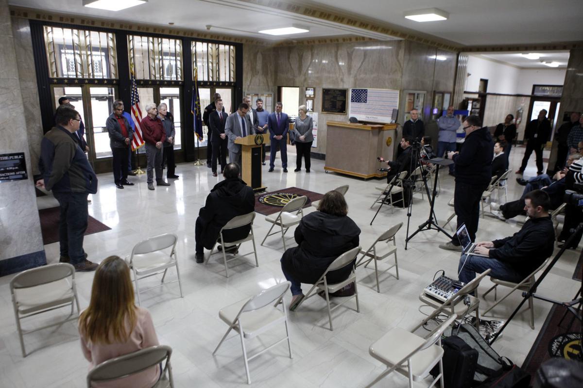 Hammond Emergency Press Conference