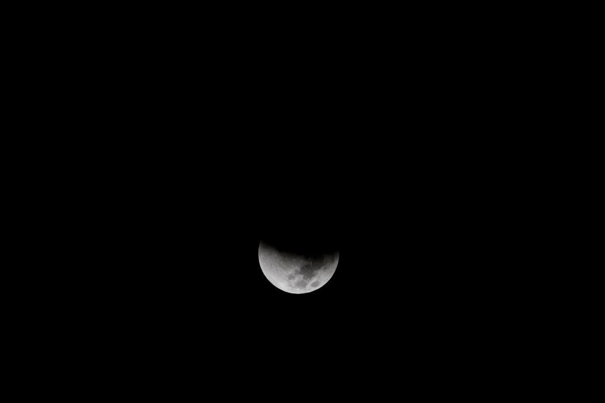 Mideast Israel Supermoon Eclipse