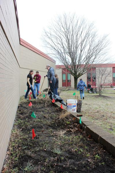 Munster High School plants orchard for Project GREEN