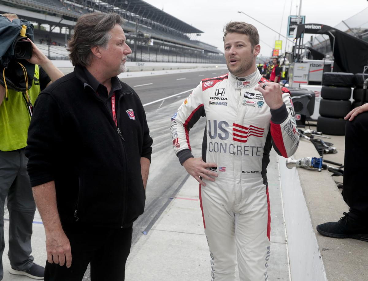 Andretti tops speed chart again in Indianapolis 500 practice | Indy ...