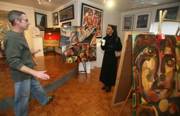 Artful marketing keeps art sales, shows steady