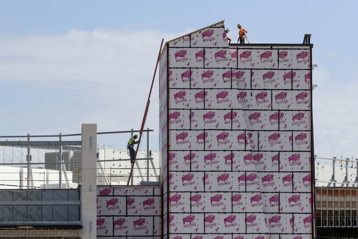 construction on new Hard Rock Casino