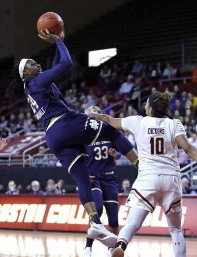 Notre Dame Boston College Basketball