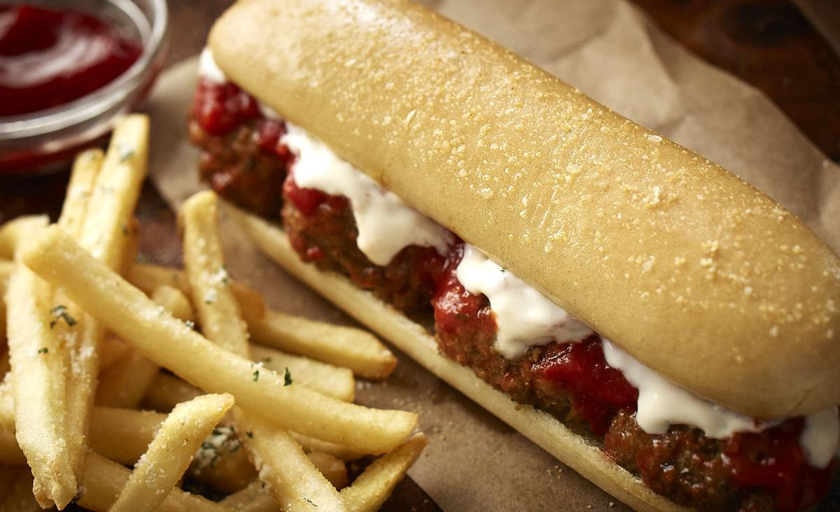 olive gardens new meatball breadstick sandwich - Olive Garden Valentines Day Special