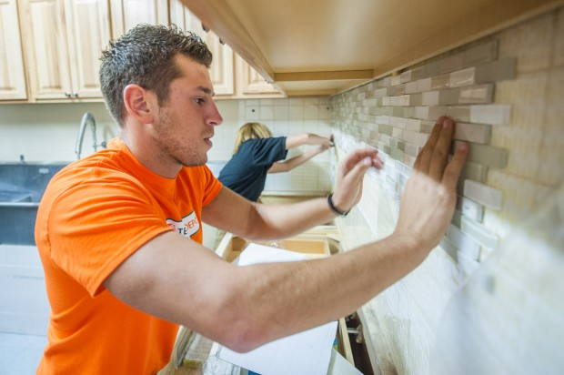 Home Depot Employees Partner To Remodel Valpo VFW Kitchen