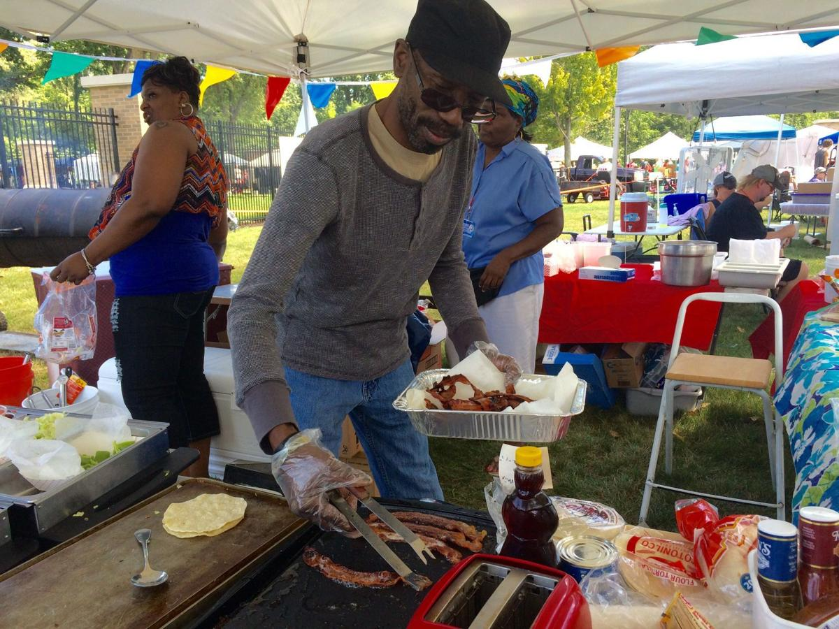 Patrons pig out at Portage Bacon Fest