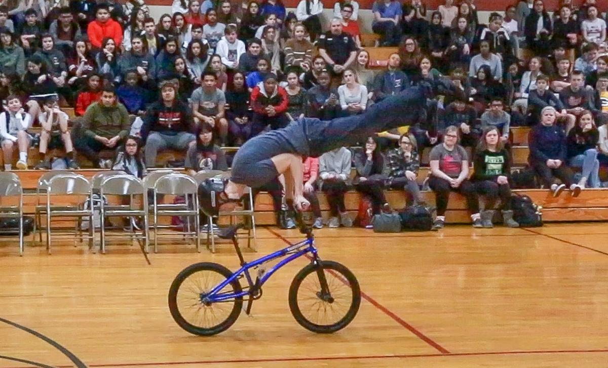 BMX bike trickster Matt Wilhelm talks about bullying