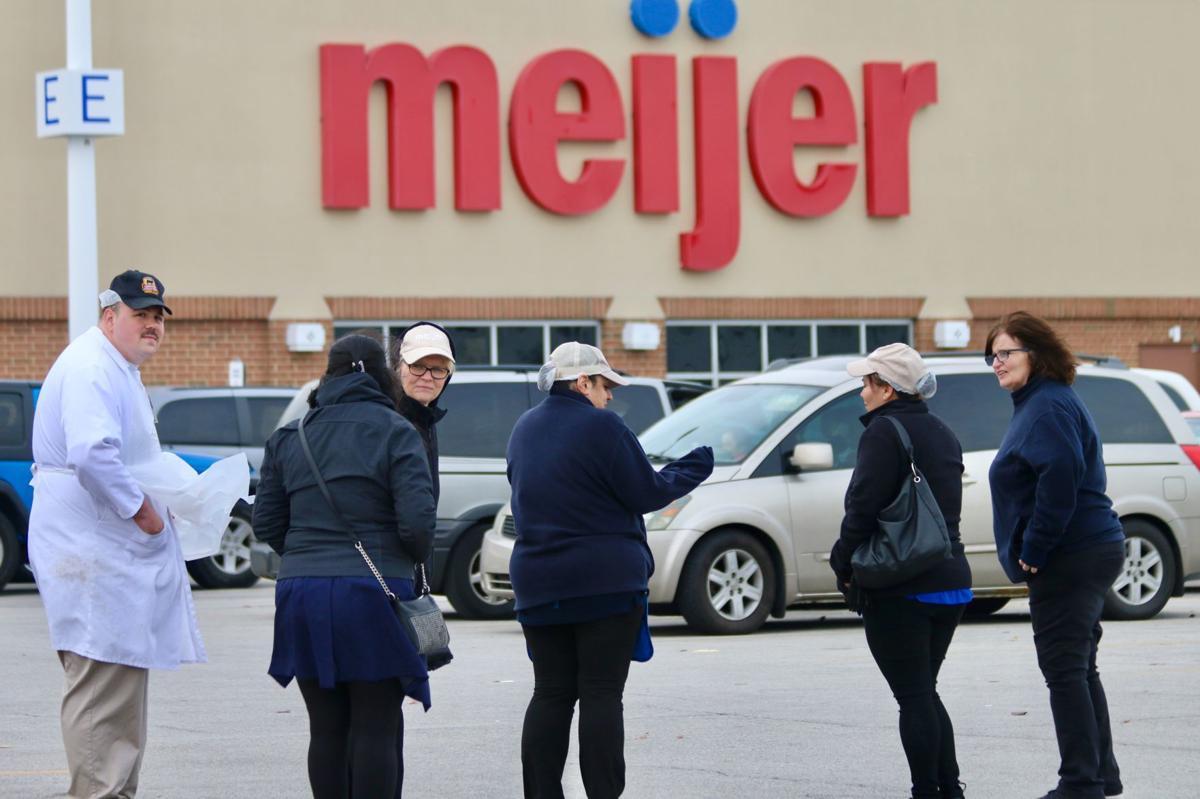 Meijer evacuation