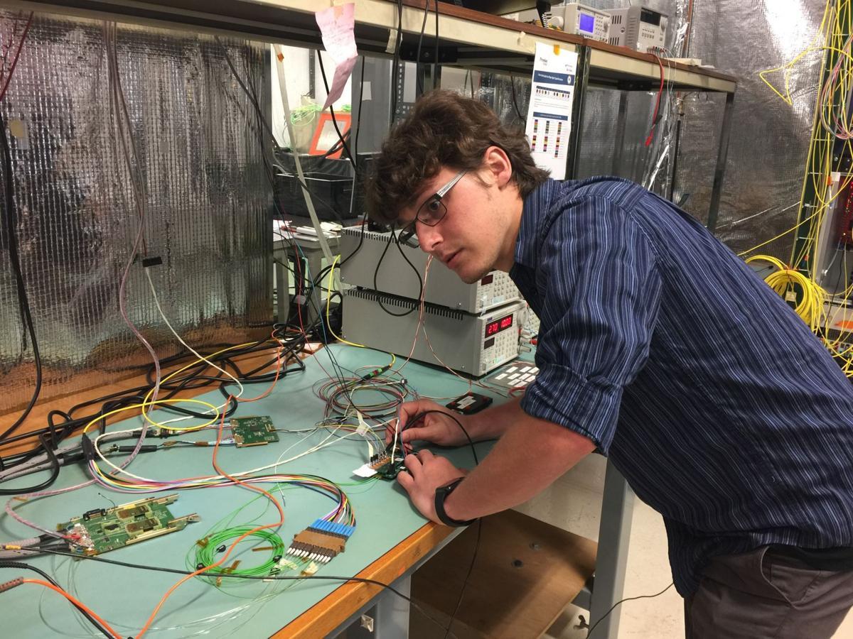 Eddie McGrady at CERN
