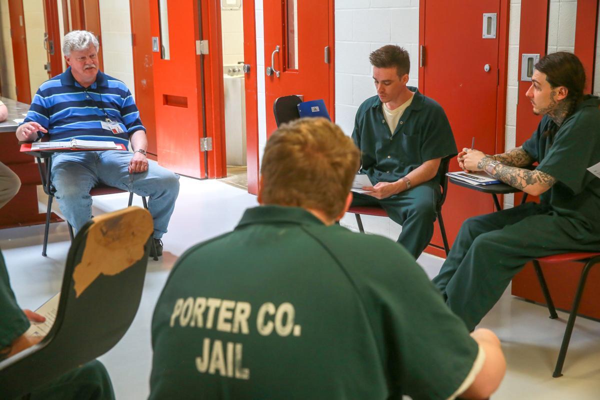 Porter County Jail fathering class for male inmates