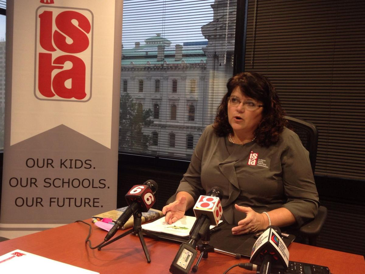 Teachers union chief blames Indiana teacher shortage on policymakers' disrespect for educators