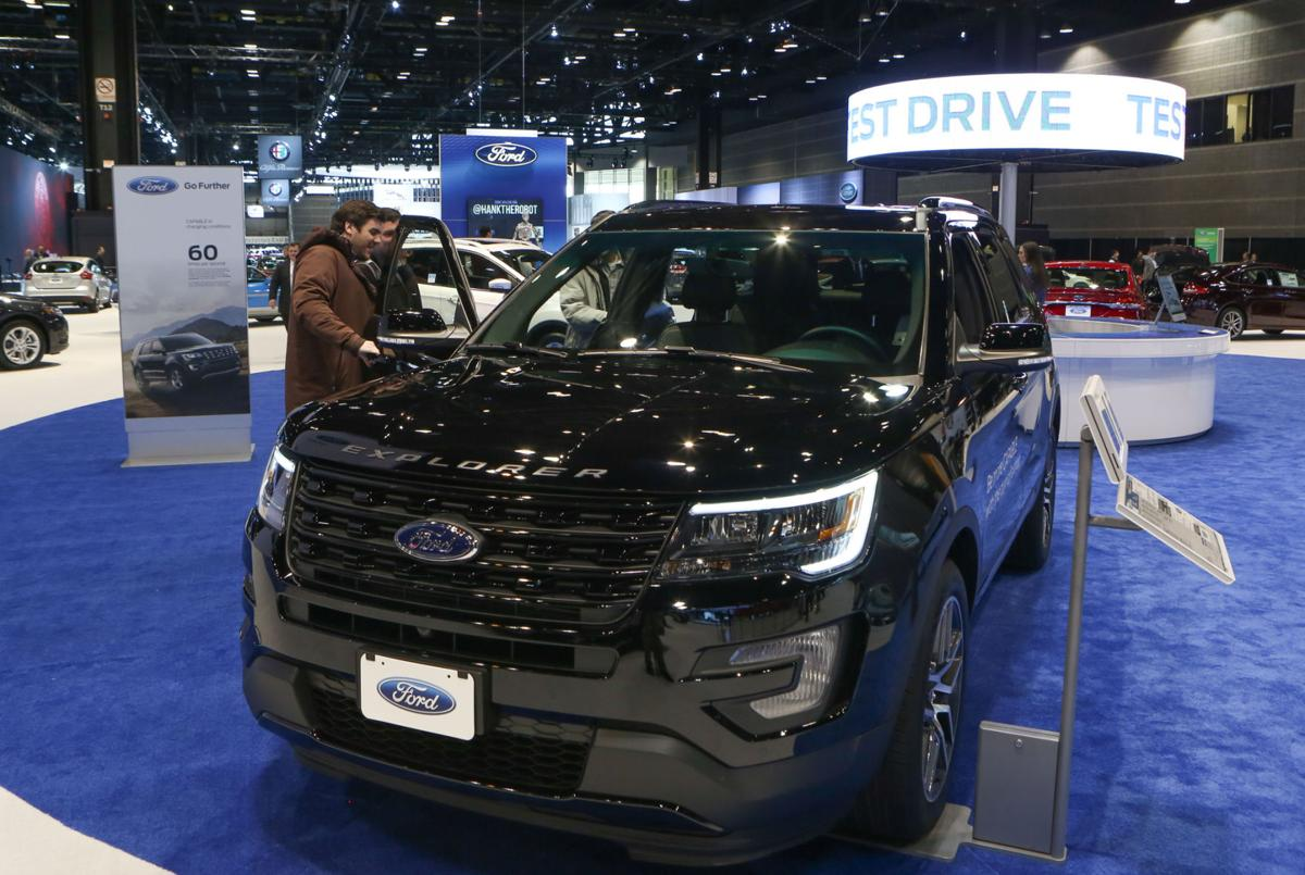 Region-made Explorer sales grew by 6.1 percent last month