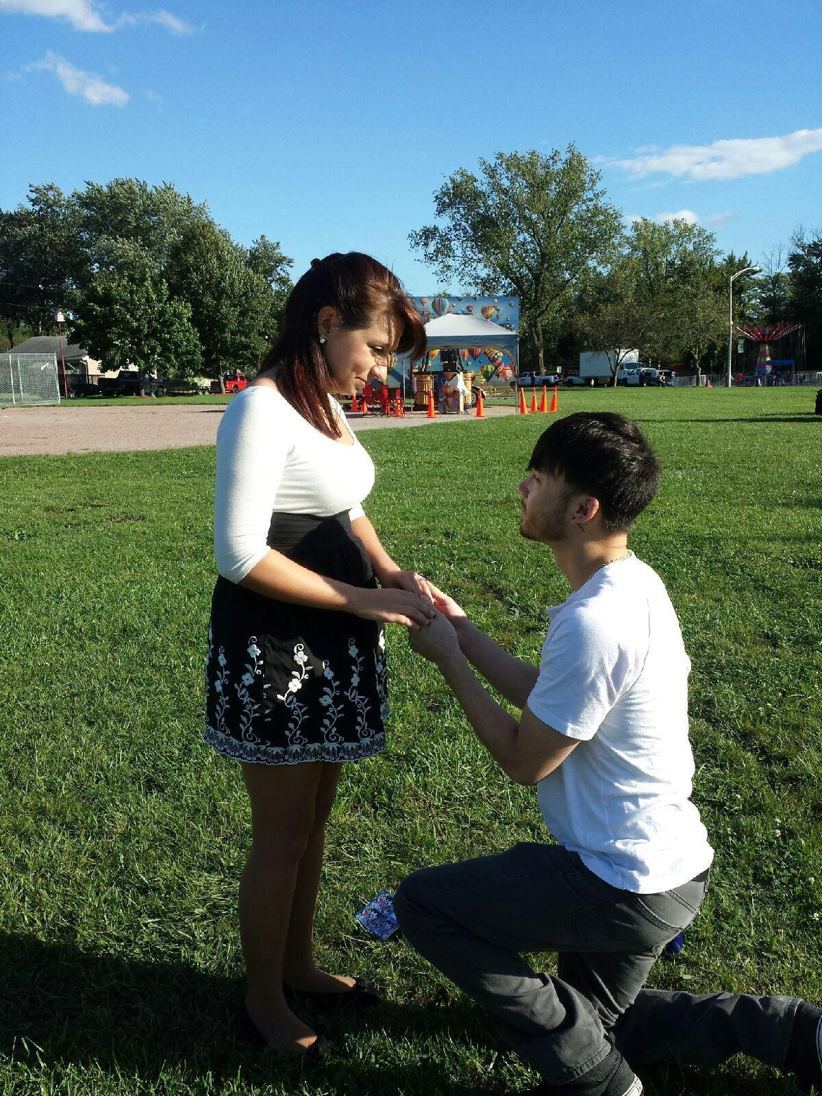 Happily engaged