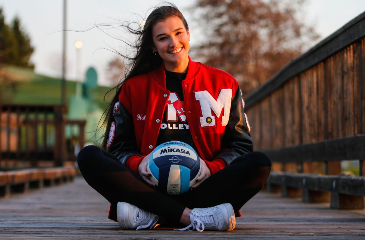 Haley Melby, 2020 volleyball player of the year