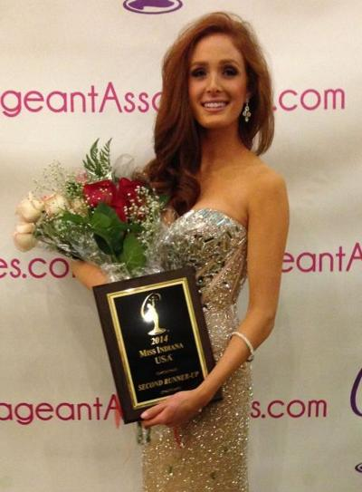 Pageant Wins Instill Self Confidence In Dyer Coed Alexis Ginn