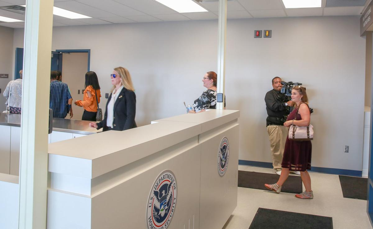 Grand Opening of the Customs and Border Protection facility at the Gary/Chicago International Airport