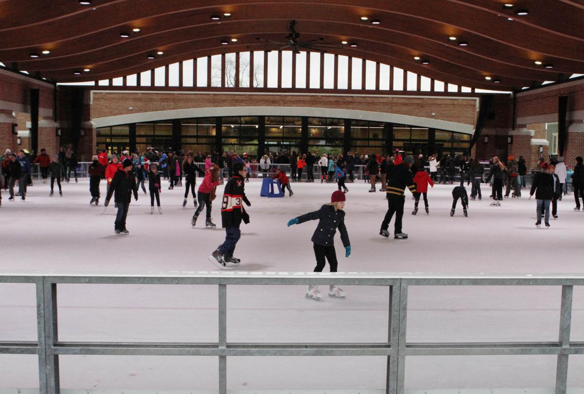 valparaiso u0027s new ice rink opens porter county news nwitimes com