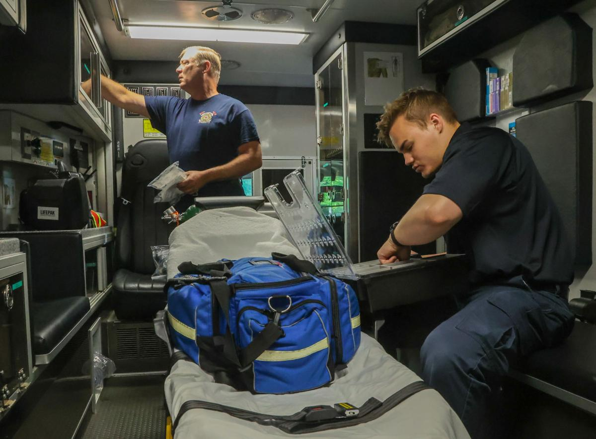 Lake Hills Fire Department has been advanced to an Advance Life Support status