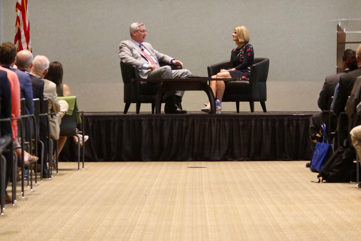 Eric Holcomb speaks to One Region