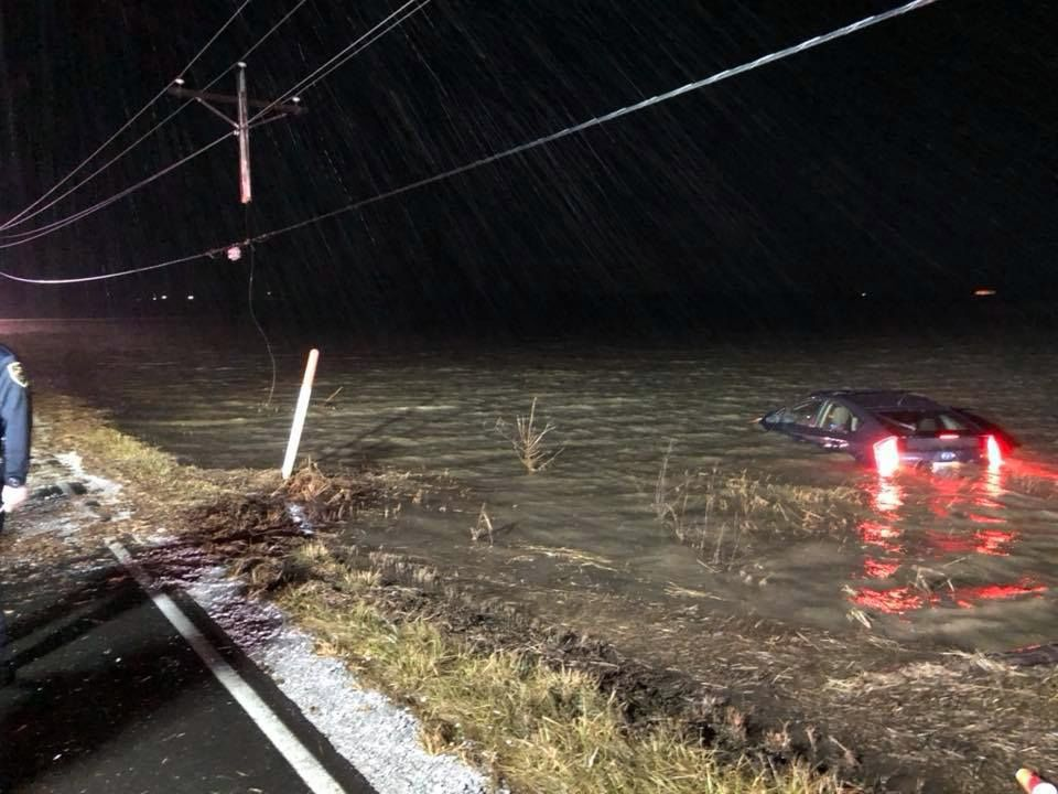 Two rescued from Porter Township floodwaters in less than 10 hours