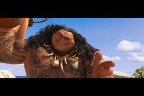 Maui From 'Moana' Is Based On The Rock's Real-life Grandfather