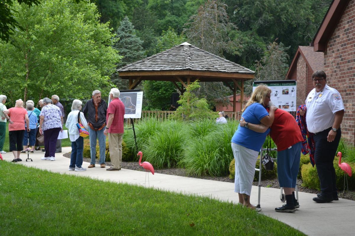 Bonner Senior Center members celebrate facility's reopening