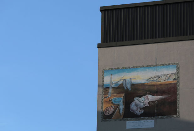 THE SOUTH SHORE IN 100 OBJECTS, DAY 89: Dali Mural