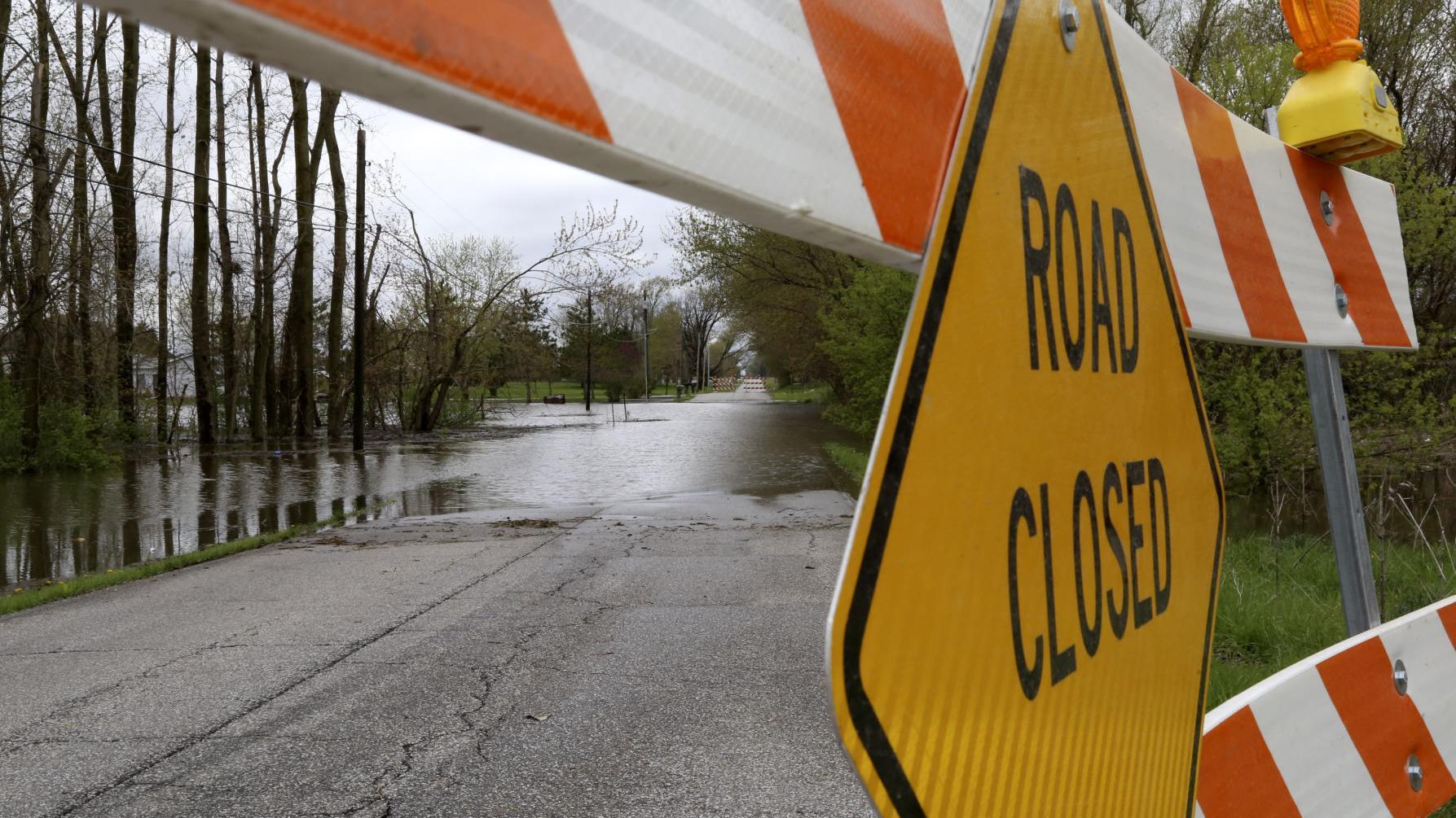 Flash flood watch issued as rain soaks Region