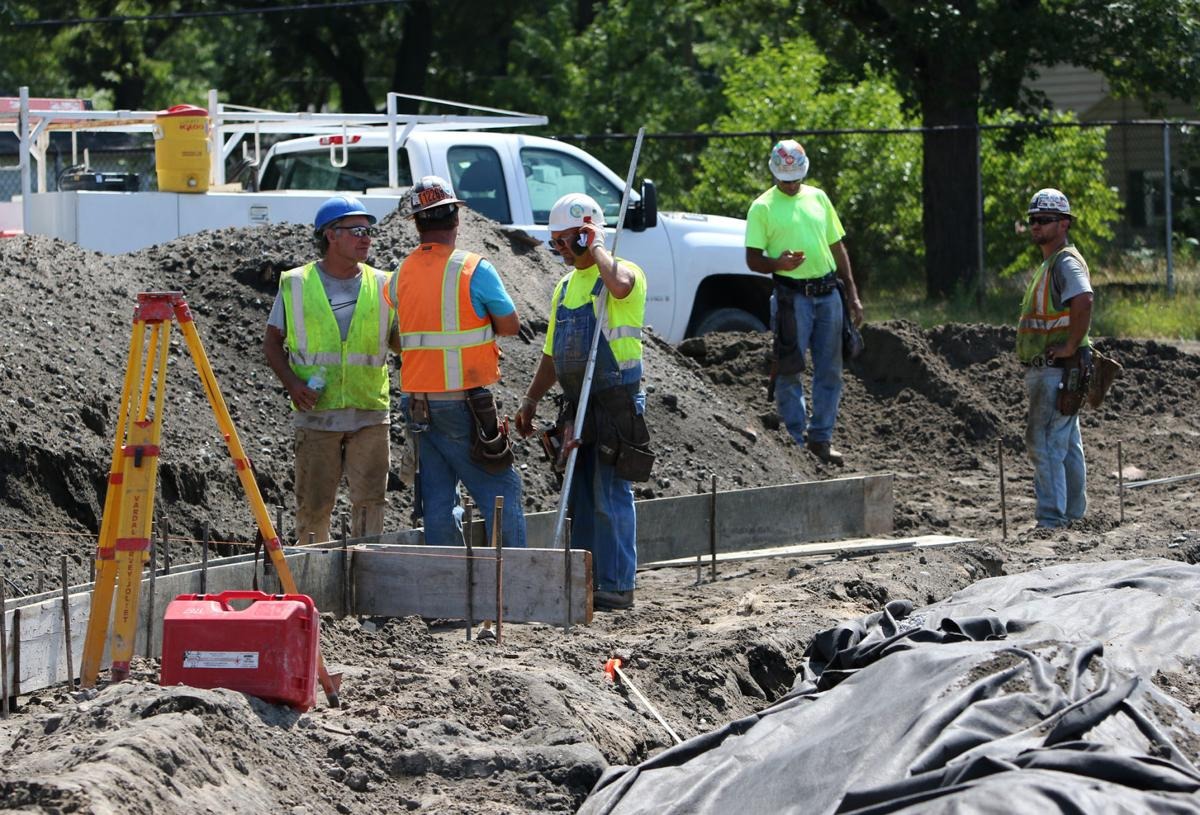 Calumet New Tech High School construction